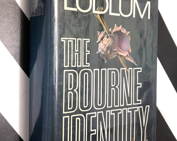 The Bourne Identity by Robert Ludlum (1980) hardcover book