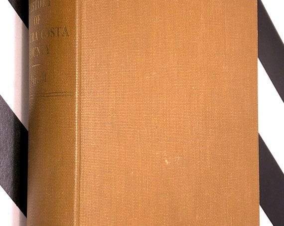 History of Contra Costa County by Mae Fisher Purcell (1940) signed first edition book