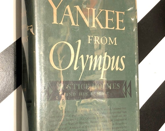 Yankee from Olympus by Catherine Drinker Bowen (1944) hardcover book