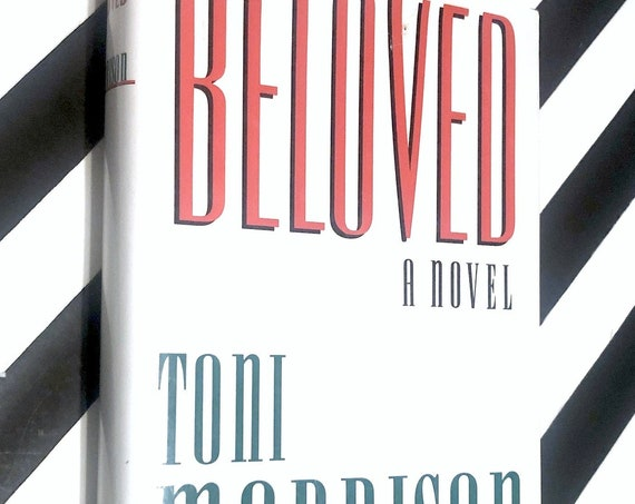 Beloved by Toni Morrison (1987) hardcover book