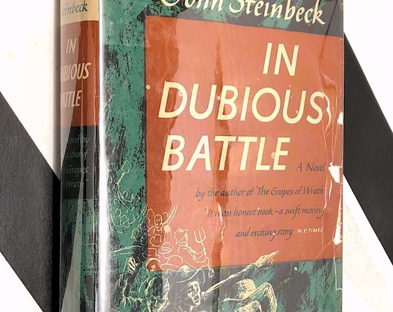 In Dubious Battle by John Steinbeck (1947) hardcover book