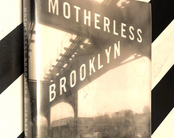 Motherless Brooklyn by Jonathan Lethem (1999) first edition book