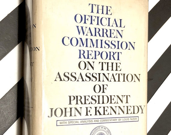 The Official Warren Commission Report On the Assassination Of President John F. Kennedy (1964) hardcover book