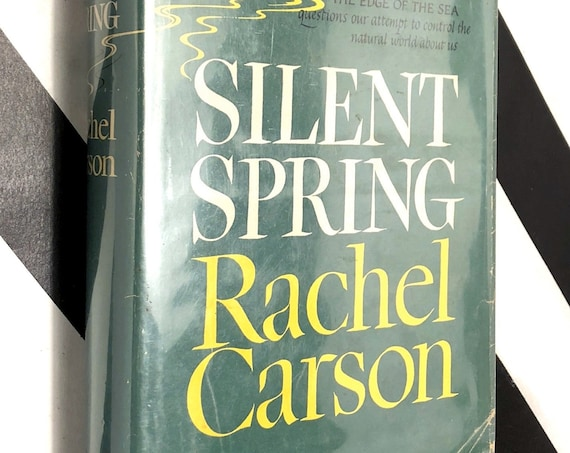 Silent Spring by Rachel Carson (1962) first edition book