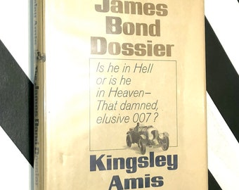 The James Bond Dossier by Kingsley Amis (1965) hardcover book