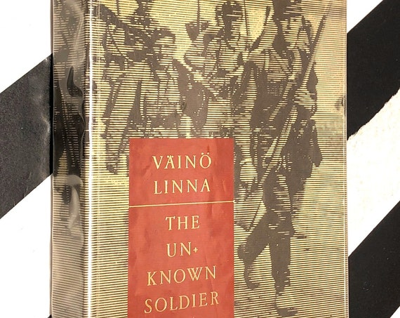 The Unknown Soldier by Vaino Linna (1968) hardcover book