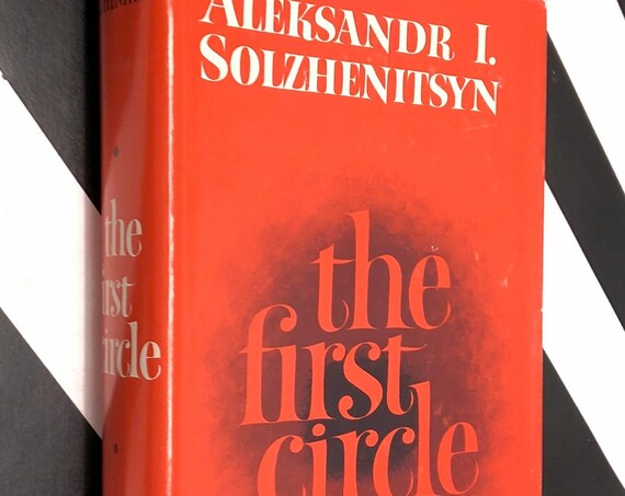 The First Circle by Aleksandr Solzhenitsyn (1968) hardcover book