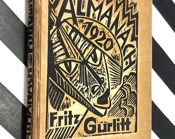 Almanach auf das Jahr 1920 by Fritz Gurlitt (1920) first edition book