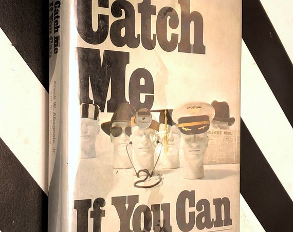 Catch Me If You Can by Frank Abagnale, Jr. (1980) hardcover book