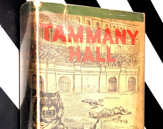 Tammany Hall by M.R. Werner (1928) first edition book