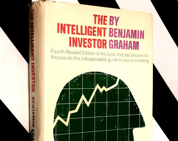 The Intelligent Investor by Benjamin Graham (1973) hardcover book