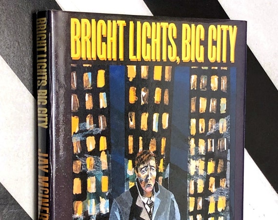 Bright Lights, Big City by Jay McInerney (1985) signed first edition book