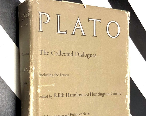The Collected Dialogues of Plato (1961) hardcover book