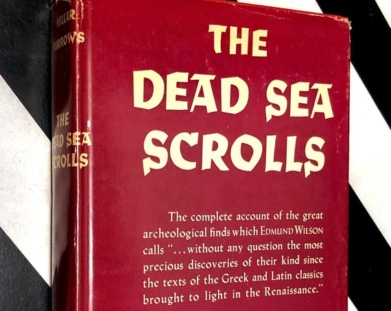 The Dead Sea Scrolls by Millar Burrows (1955) hardcover book