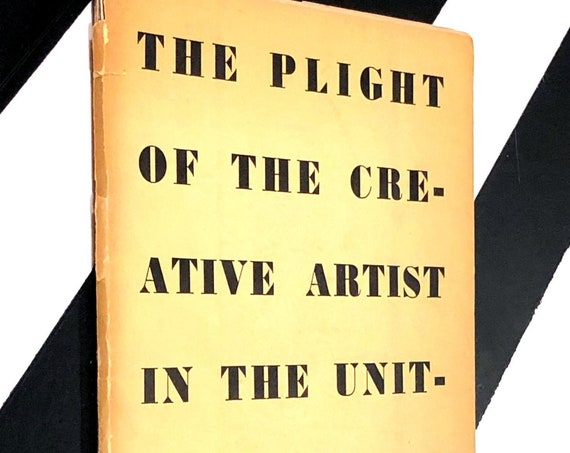 The Plight of the Creative Artist in the United States of America by Henry Miller (no date) softcover signed book