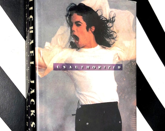 Michael Jackson Unauthorized by Christopher Andersen (1994) first edition book