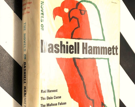 The Novels of Dashiell Hammett (1965) hardcover book