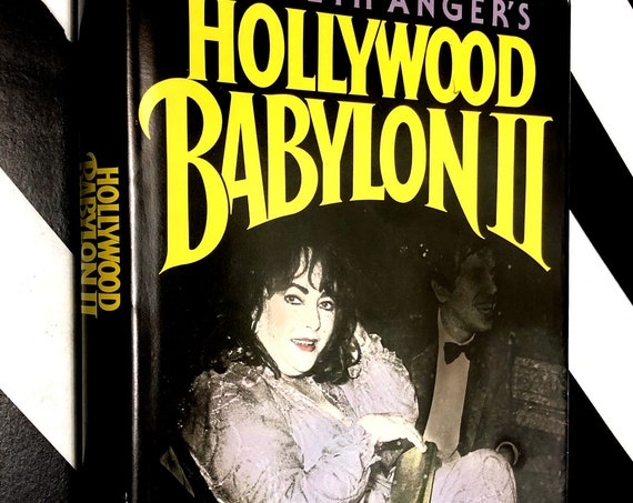 Hollywood Babylon II by Kenneth Anger (1984) hardcover book