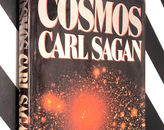 Cosmos by Carl Sagan (1980) hardcover book