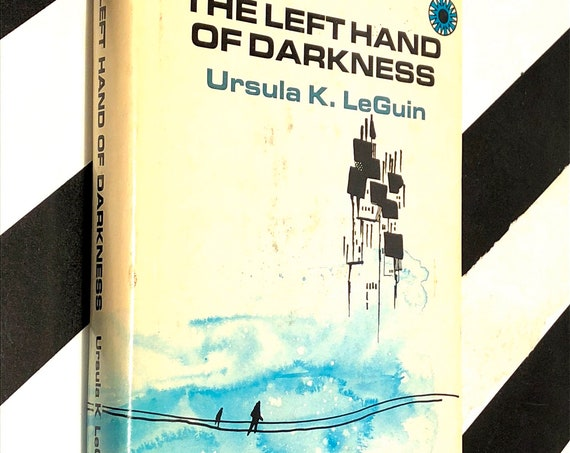 The Left Hand of Darkness by Ursula LeGuin (1969) hardcover book