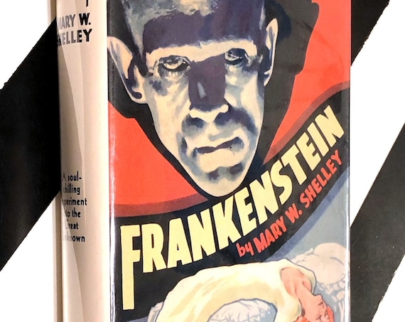 Frankenstein or, the Modern Prometheus by Mary W. Shelley (no date) hardcover photoplay edition