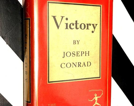 Victory by Joseph Conrad (1921) hardcover Modern Library book