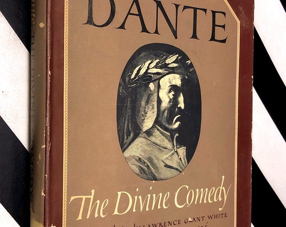 The Divine Comedy, The Inferno, Purgatorio, and Paradiso by Dante Illustrated by Gustave Dore (1948) hardcover book