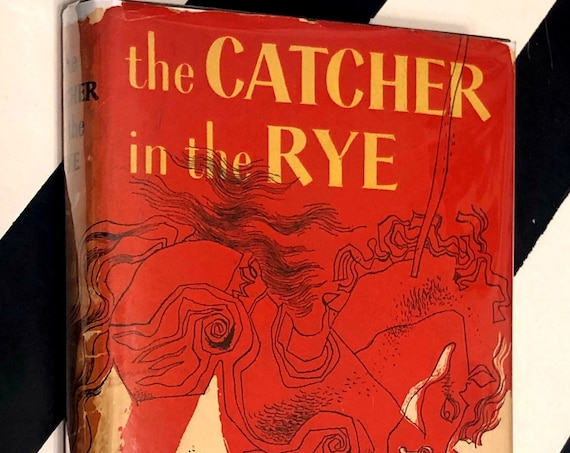 The Catcher in the Rye by J. D. Salinger (1951) hardcover book