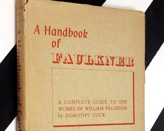 A Handbook of Faulkner by Dorothy Tuck (1965) hardcover book