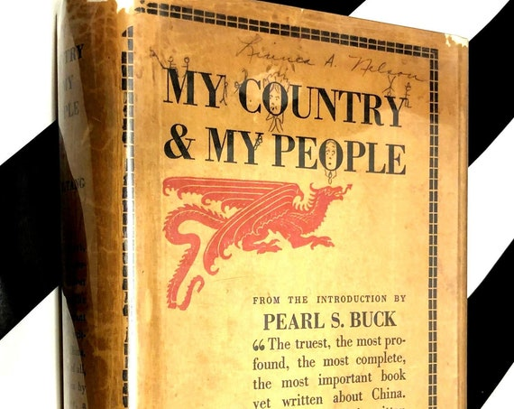My Country and My People by Lin Yutang (1936) hardcover book