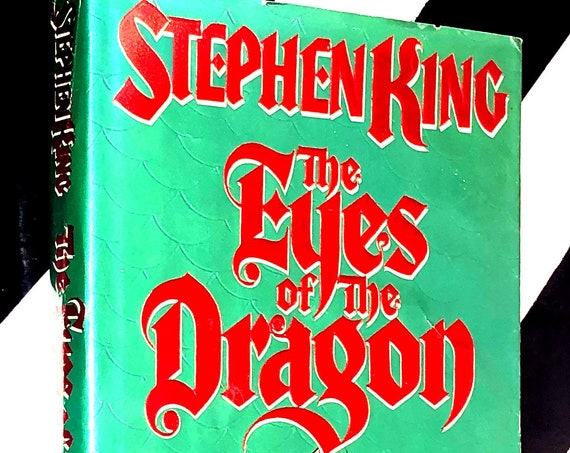 The Eyes of the Dragon by Stephen King (1987) hardcover book
