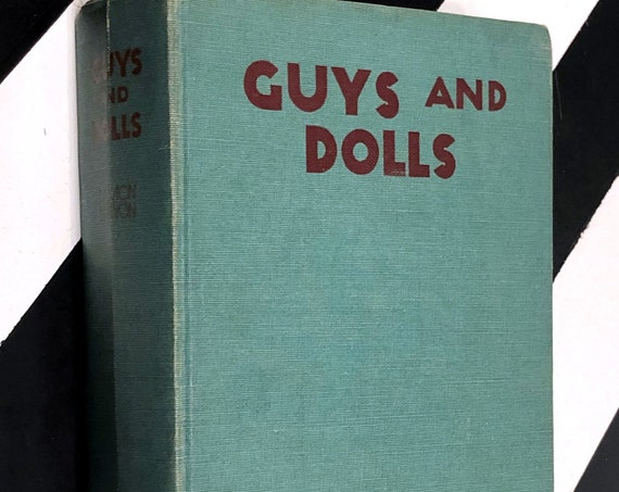 Guys and Dolls: Three Volumes in One by Damon Runyon (1935) hardcover book