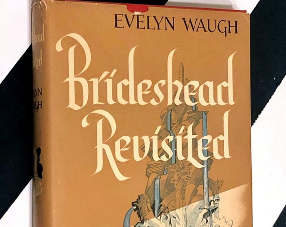 Brideshead Revisited by Evelyn Waugh (1945) hardcover book