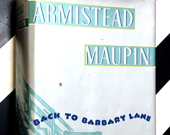 Back to Barbary Lane by Armistead Maupin (1991) first edition book
