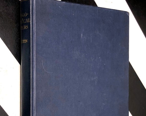 Philosophical Papers by J. L. Austin (1961) hardcover book