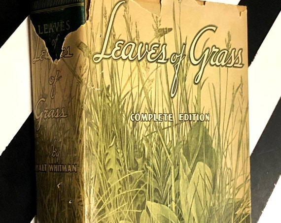Leaves of Grass by Walt Whitman (1931) hardcover book
