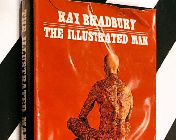 The Illustrated Man by Ray Bradbury (1951) hardcover book