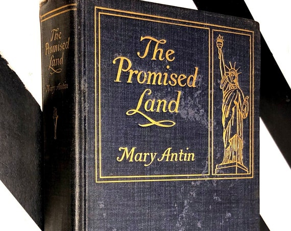 The Promised Land by Mary Antin (1912) first edition book