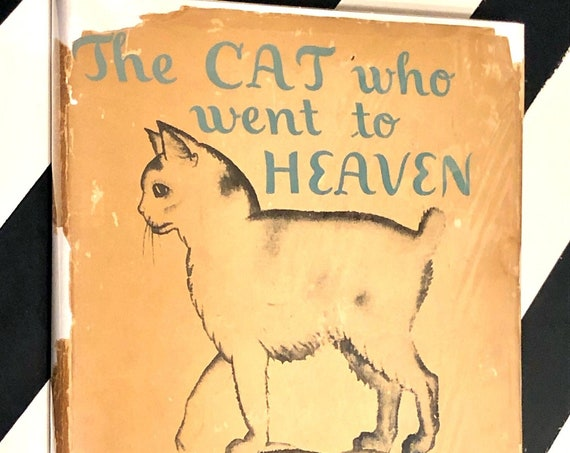 The Cat who went to Heaven by Elizabeth Coatsworth (1939) hardcover book