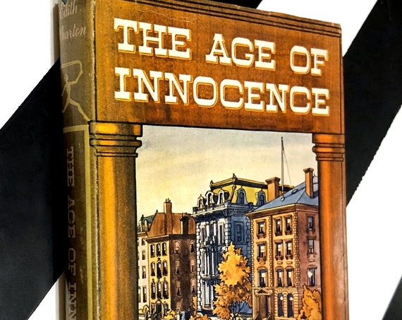 The Age of Innocence by Edith Wharton (1920) hardcover book