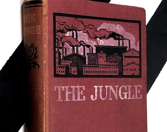 The Jungle by Upton Sinclair (1920) hardcover book