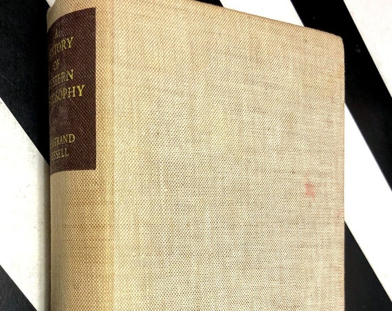 A History of Western Philosophy by Bertrand Russell (1946) hardcover book