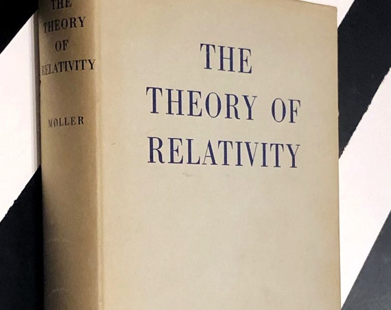 The Theory of Relativity by C. Møller (1952) hardcover first edition book