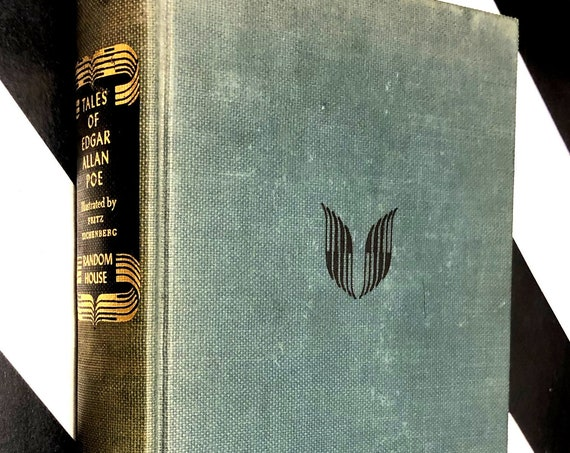 Tales of Edgar Allen Poe Illustrated by Fritz Eichenberg (1944) hardcover book
