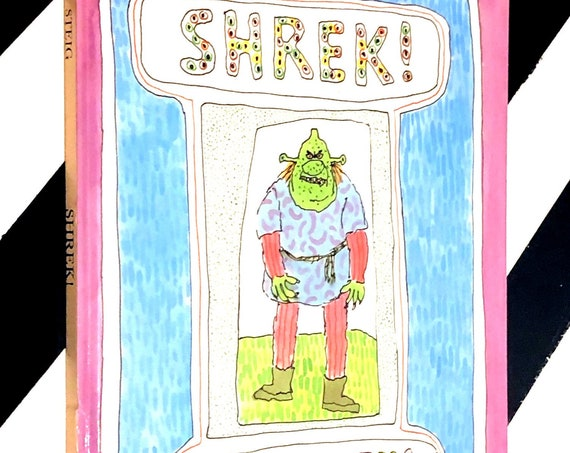 Shrek! by William Steig (1990) hardcover first edition book