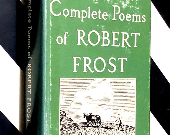 Complete Poems of Robert Frost (1964) hardcover book