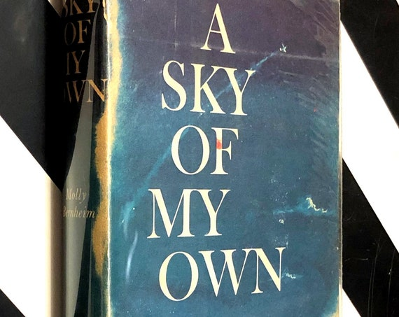 A Sky of My Own: The Flight Log of Molly Bernheim (1959) hardcover book