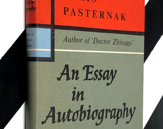 An Essay in Autobiography by Boris Pasternak (1959) hardcover book