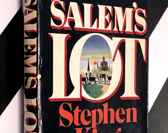 Salem's Lot by Stephen King (1975) hardcover book