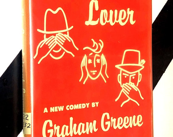 The Complaisant Lover: A New Comedy by Graham Greene (1961) hardcover book